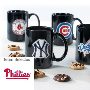 Philadelphia Phillies Ceramic Mug 12 Nibblers