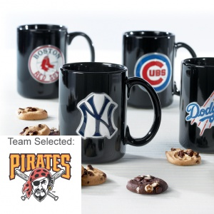 Pittsburgh Pirates Ceramic Mug 12 Nibblers