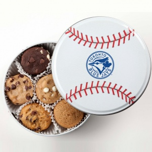 Toronto Blue Jays Baseball Tin 18 Nibblers