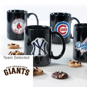 San Francisco Giants Ceramic Mug 12 Nibblers