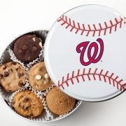 Washington Nationals Baseball Tin 18 Nibblers
