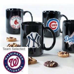 Washington Nationals Ceramic Mug 12 Nibblers