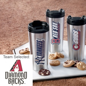 Arizona Diamondbacks Stainless Steel Mug 12 Nibblers