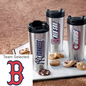 Boston Red Sox Stainless Steel Mug 12 Nibblers