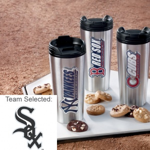 Chicago White Sox Stainless Steel Mug 12 Nibblers