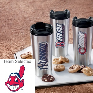 Cleveland Indians Stainless Steel Mug 12 Nibblers