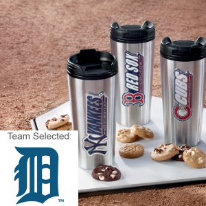 Detroit Tigers Stainless Steel Mug 12 Nibblers