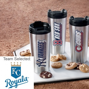 Kansas City Royals Stainless Steel Mug 12 Nibblers