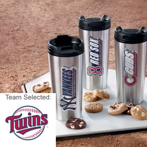 Minnesota Twins Stainless Steel Mug 12 Nibblers
