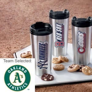 Oakland Athletics Stainless Steel Mug 12 Nibblers