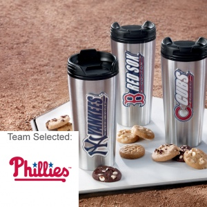 Philadelphia Phillies Stainless Steel Mug 12 Nibblers