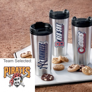 Pittsburgh Pirates Stainless Steel Mug 12 Nibblers