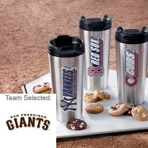San Francisco Giants Stainless Steel Mug 12 Nibblers