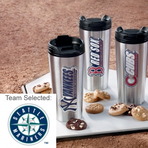 Seattle Mariners Stainless Steel Mug 12 Nibblers
