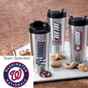 Washington Nationals Stainless Steel Mug 12 Nibblers