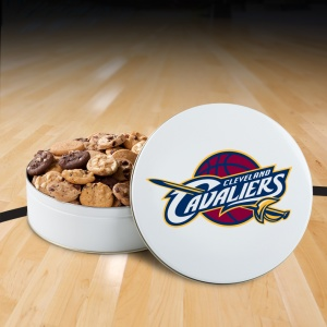 Cleveland Cavaliers 54 Nibbler Tin