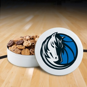 Dallas Mavericks 54 Nibbler Tin