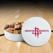 Houston Rockets 54 Nibbler White Tin