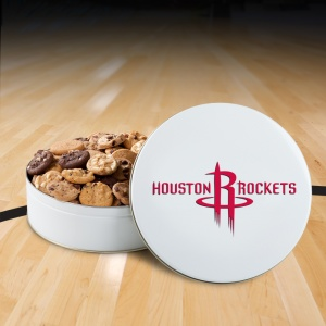 Houston Rockets 54 Nibbler Tin