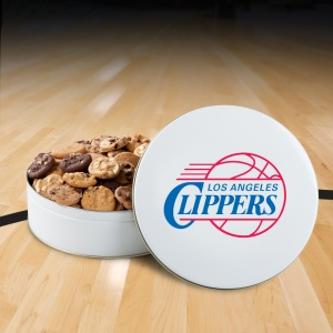 Los Angeles Clippers 54 Nibbler White Tin
