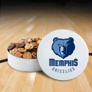 Memphis Grizzlies 54 Nibbler White Tin