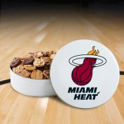 Miami Heat 54 Nibbler White Tin