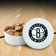 Brooklyn Nets 54 Nibbler White Tin