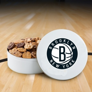 Brooklyn Nets 54 Nibbler Tin