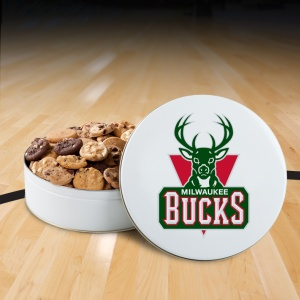 Milwaukee Bucks 54 Nibbler White Tin