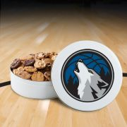 Minnesota Timberwolves 54 Nibbler White Tin
