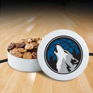 Minnesota Timberwolves 54 Nibbler Tin