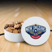 New Orleans Hornets 54 Nibbler White Tin