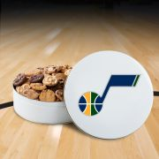 Utah Jazz 54 Nibbler White Tin