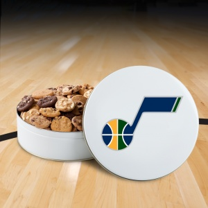Utah Jazz 54 Nibbler Tin