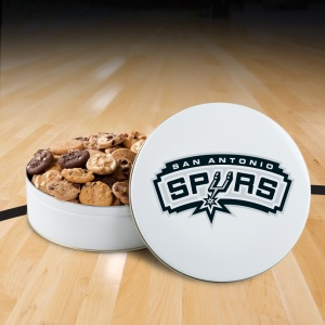 San Antonio Spurs 54 Nibbler White Tin