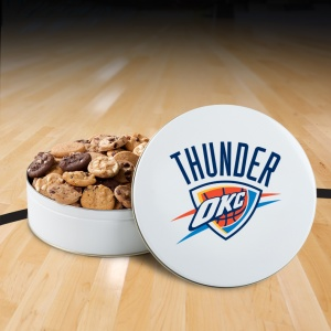 Oklahoma Thunder 54 Nibbler White Tin