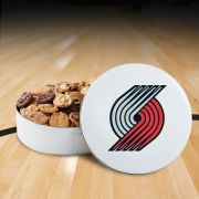 Portland Trailblazers 54 Nibbler White Tin