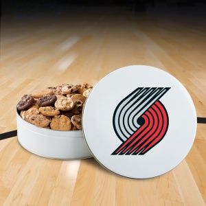 Portland Trailblazers 54 Nibbler Tin