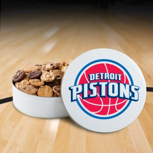 Detroit Pistons 54 Nibbler White Tin