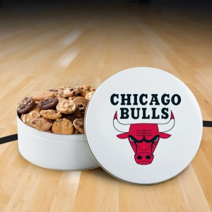 Chicago Bulls 112 Nibbler White Tin