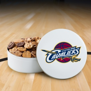 Cleveland Cavaliers 112 Nibbler Tin