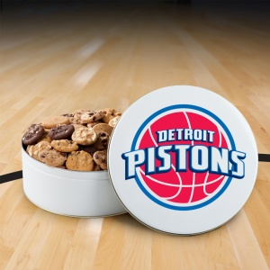 Detroit Pistons 112 Nibbler White Tin