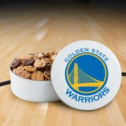 Golden State Warriors 112 Nibbler White Tin