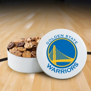 Golden State Warriors 112 Nibbler Tin