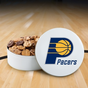 Indiana Pacers 112 Nibbler Tin