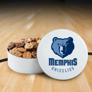 Memphis Grizzlies 112 Nibbler White Tin