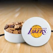 Los Angeles Lakers 112 Nibbler White Tin