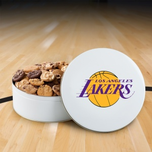 Los Angeles Lakers 112 Nibbler Tin