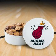 Miami Heat 112 Nibbler White Tin