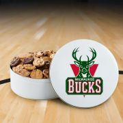 Milwaukee Bucks 112 Nibbler White Tin